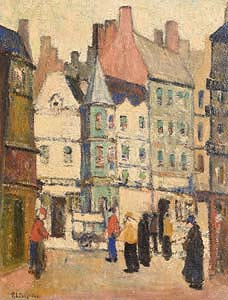 Reynolds L. Selfridge, The Village at Morgan O'Driscoll Art Auctions