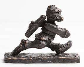 Patrick O'Reilly, Walking Bear (2016) at Morgan O'Driscoll Art Auctions
