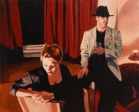 John Luce Lockett, Something I Said? at Morgan O'Driscoll Art Auctions