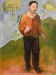 Jonathan Hunter, Birch Tree Way (2000) at Morgan O'Driscoll Art Auctions