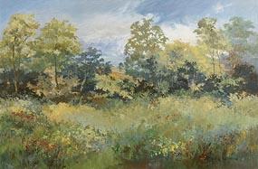 Gretta O'Brien, Mid Summer at Morgan O'Driscoll Art Auctions