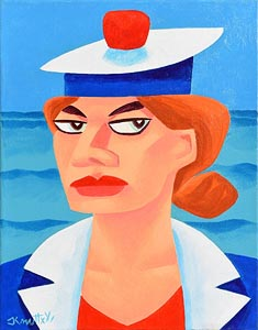 Graham Knuttel, Sailor Girl at Morgan O'Driscoll Art Auctions