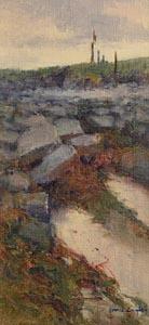 James English, Seaweed and Rocks, Achill at Morgan O'Driscoll Art Auctions