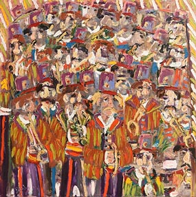 Bill Griffin, The Orchestra (2007) at Morgan O'Driscoll Art Auctions