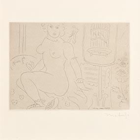 Henri Matisse, Nu at Morgan O'Driscoll Art Auctions