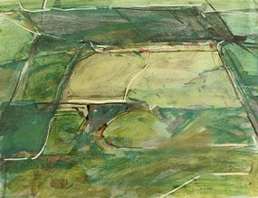 Clement McAleer, Aerial View at Morgan O'Driscoll Art Auctions