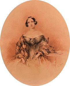 Edward Hayes, Portrait of Caroline Deering at Morgan O'Driscoll Art Auctions