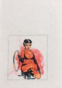 Allen Jones, Untitled (1970) at Morgan O'Driscoll Art Auctions