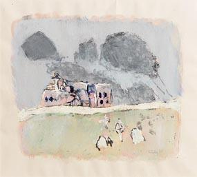 Tim Goulding, Je Voudrais que Mon Amour Mourt...Samuel Beckett (1965) at Morgan O'Driscoll Art Auctions