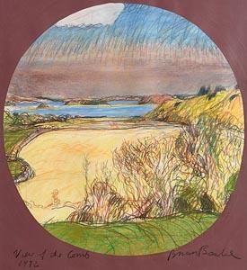Brian Bourke, View of the Corrib (1982) at Morgan O'Driscoll Art Auctions