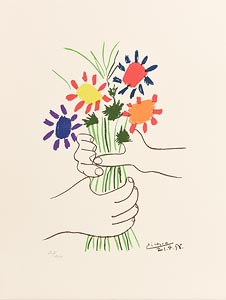 Pablo Picasso, The Bouquet (1983) at Morgan O'Driscoll Art Auctions