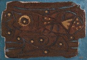 Gerard Dillon, Fish and Profiles at Morgan O'Driscoll Art Auctions