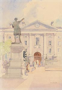 Arthur Gibney, Trinity College at Morgan O'Driscoll Art Auctions