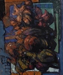 John Boyd, Flowers at Morgan O'Driscoll Art Auctions