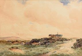 Wycliffe Egginton, Heading Home Under a Thunderey Sky at Morgan O'Driscoll Art Auctions