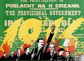 Robert Ballagh, The Easter Rising, 75th Anniversary (1916- 1991) at Morgan O'Driscoll Art Auctions