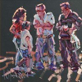Arthur K. Maderson, Figures Against Evening Light at Morgan O'Driscoll Art Auctions