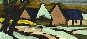 Markey Robinson, Farm in Winter at Morgan O'Driscoll Art Auctions