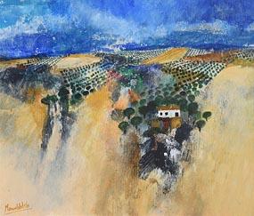 Manus Walsh, Hills of Alhambra at Morgan O'Driscoll Art Auctions