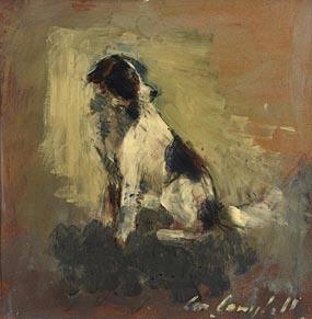 Con Campbell, Dog Called Jack at Morgan O'Driscoll Art Auctions