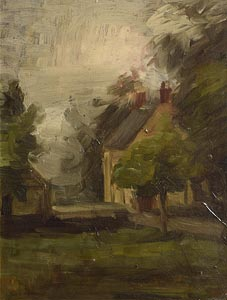 William Duthie, Landscape with Cottage at Morgan O'Driscoll Art Auctions