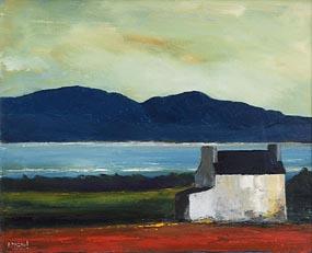 Padraig McCaul, Farmhouse over the Kenmare River (2008) at Morgan O'Driscoll Art Auctions
