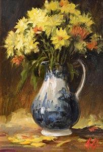 Mat Grogan, Summer Blossoms at Morgan O'Driscoll Art Auctions