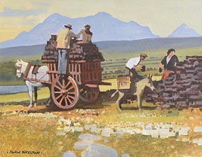 John Skelton, The Turf Collectors at Morgan O'Driscoll Art Auctions