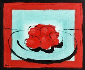 Neil Shawcross, Still Life - Fruit on a Plate (2006) at Morgan O'Driscoll Art Auctions