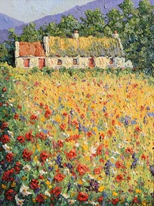 James S. Brohan, Wild Flower Meadow at Morgan O'Driscoll Art Auctions