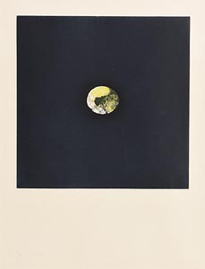 Louis Le Brocquy, Citron (1974) at Morgan O'Driscoll Art Auctions