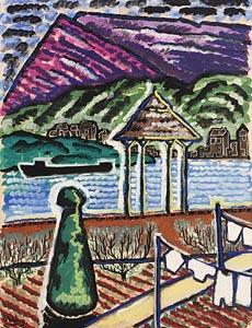 Basil Ivan Rakoczi, Vue de Meuse at Morgan O'Driscoll Art Auctions