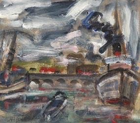 Queen's Bridge, Belfast at Morgan O'Driscoll Art Auctions