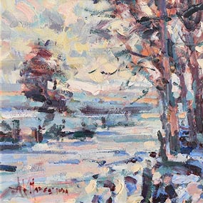 Arthur K. Maderson, Winter Sunshine Near Cappoquin at Morgan O'Driscoll Art Auctions
