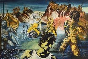 John Doherty, Tuna Fishing - After Salvor Dali at Morgan O'Driscoll Art Auctions