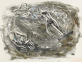 Nano Reid, Ancient Warriors on the Boyne at Morgan O'Driscoll Art Auctions