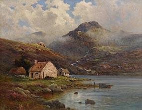 Alfred Fontville de Breanski Jnr (1877-1957), Fisherman's Home, Co Donegal at Morgan O'Driscoll Art Auctions