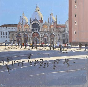 John Morris, San Marco, Venice at Morgan O'Driscoll Art Auctions