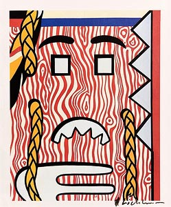 Roy Lichtenstein, Head with Braids (1982) at Morgan O'Driscoll Art Auctions