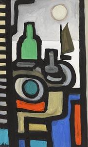 Markey Robinson, Sailing under the Moonlight at Morgan O'Driscoll Art Auctions