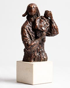 Melanie Le Brocquy, Child on Shoulder (1994) at Morgan O'Driscoll Art Auctions