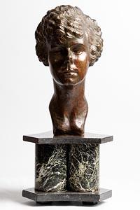 Gerard H. Vuerchaz, Female Bust at Morgan O'Driscoll Art Auctions