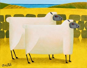 Graham Knuttel, Ewe Two at Morgan O'Driscoll Art Auctions
