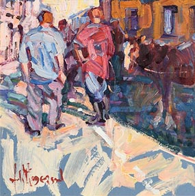 Arthur K. Maderson, Evening Tallow Horse Fair at Morgan O'Driscoll Art Auctions