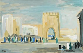 Markey Robinson, Walls of Algeria (1991) at Morgan O'Driscoll Art Auctions