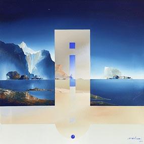 Claudio Viscardi, Blue Ice (2004) at Morgan O'Driscoll Art Auctions