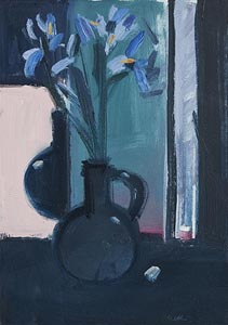 Brian Ballard, Still Life with Flowers at Morgan O'Driscoll Art Auctions