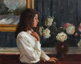 William A. Schneider, Lost in Thought at Morgan O'Driscoll Art Auctions