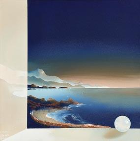 Claudio Viscardi, Landscape Blue (2004) at Morgan O'Driscoll Art Auctions
