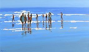 John Morris, Summer Day at Morgan O'Driscoll Art Auctions
